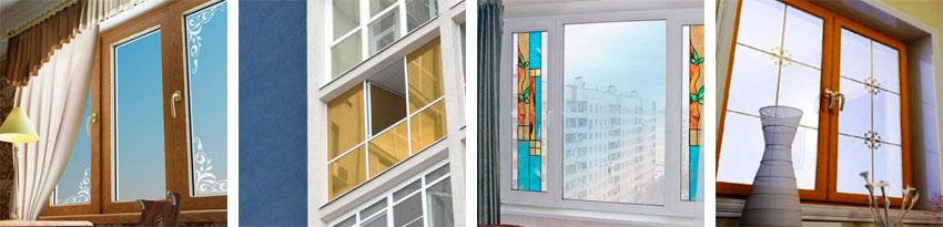 Декоративное стекло