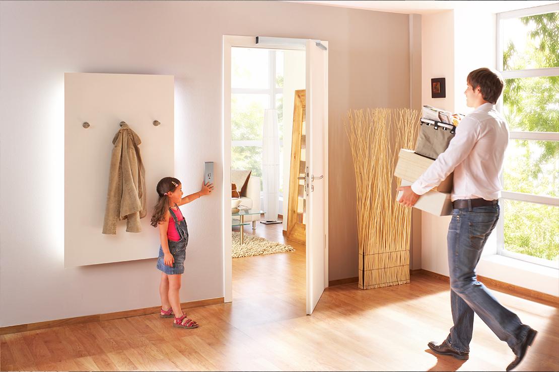 Автоматический привод GEZE для входных дверей