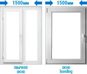 Больше света с окнами bonding